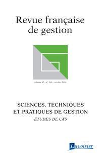 Revue Française de Gestion, 2016/7 (N° 260)